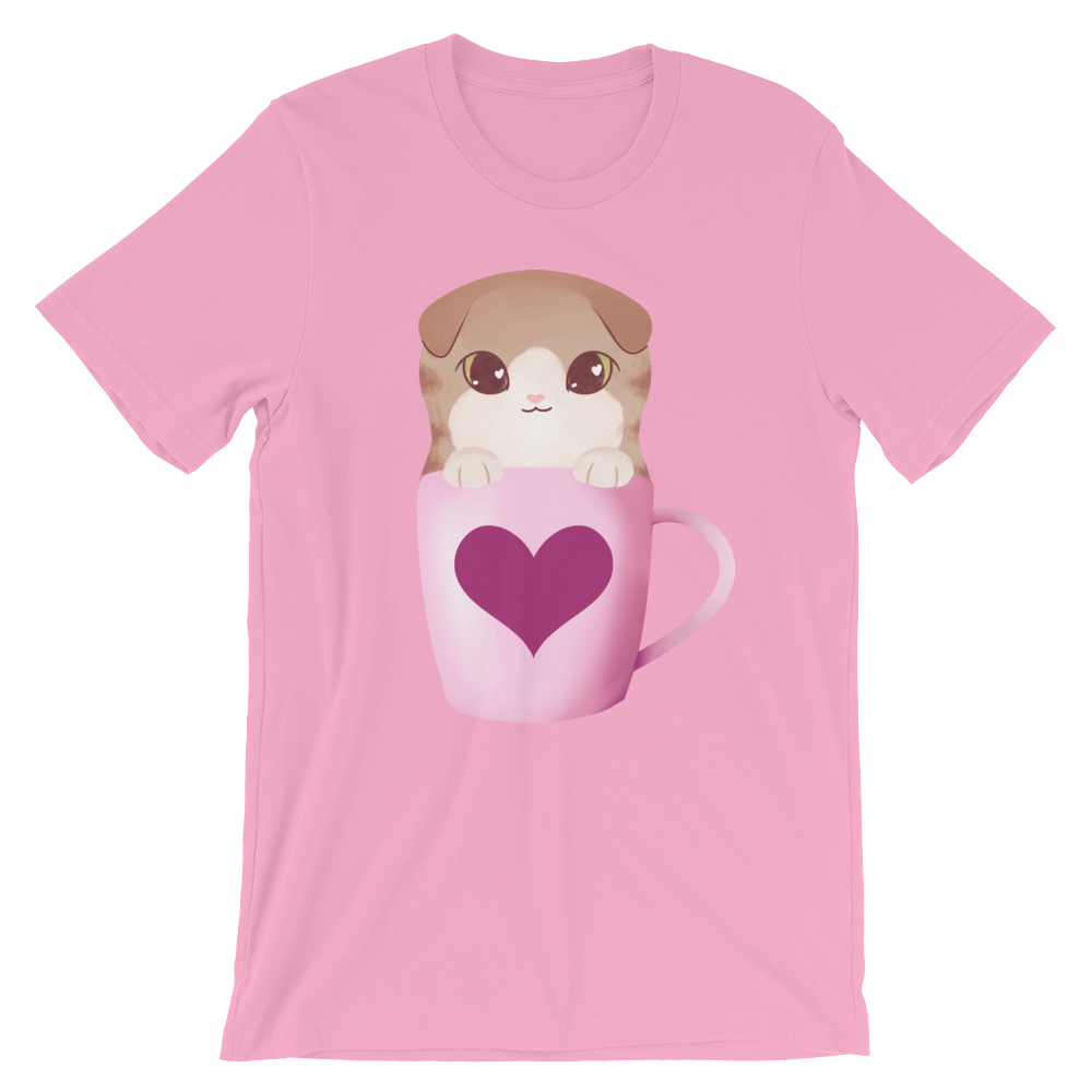 a warm cinnamon latte t-shirt