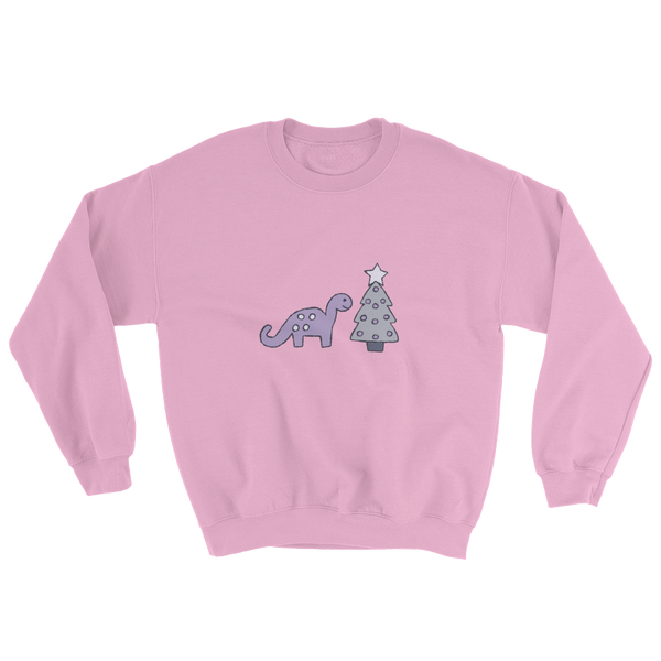 (limited edition) christmas tree dino in pink
