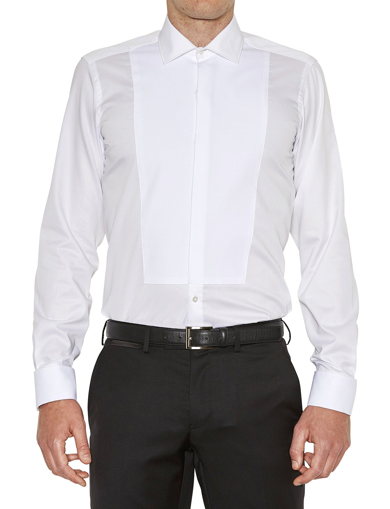 Royale Dinner Shirt in White