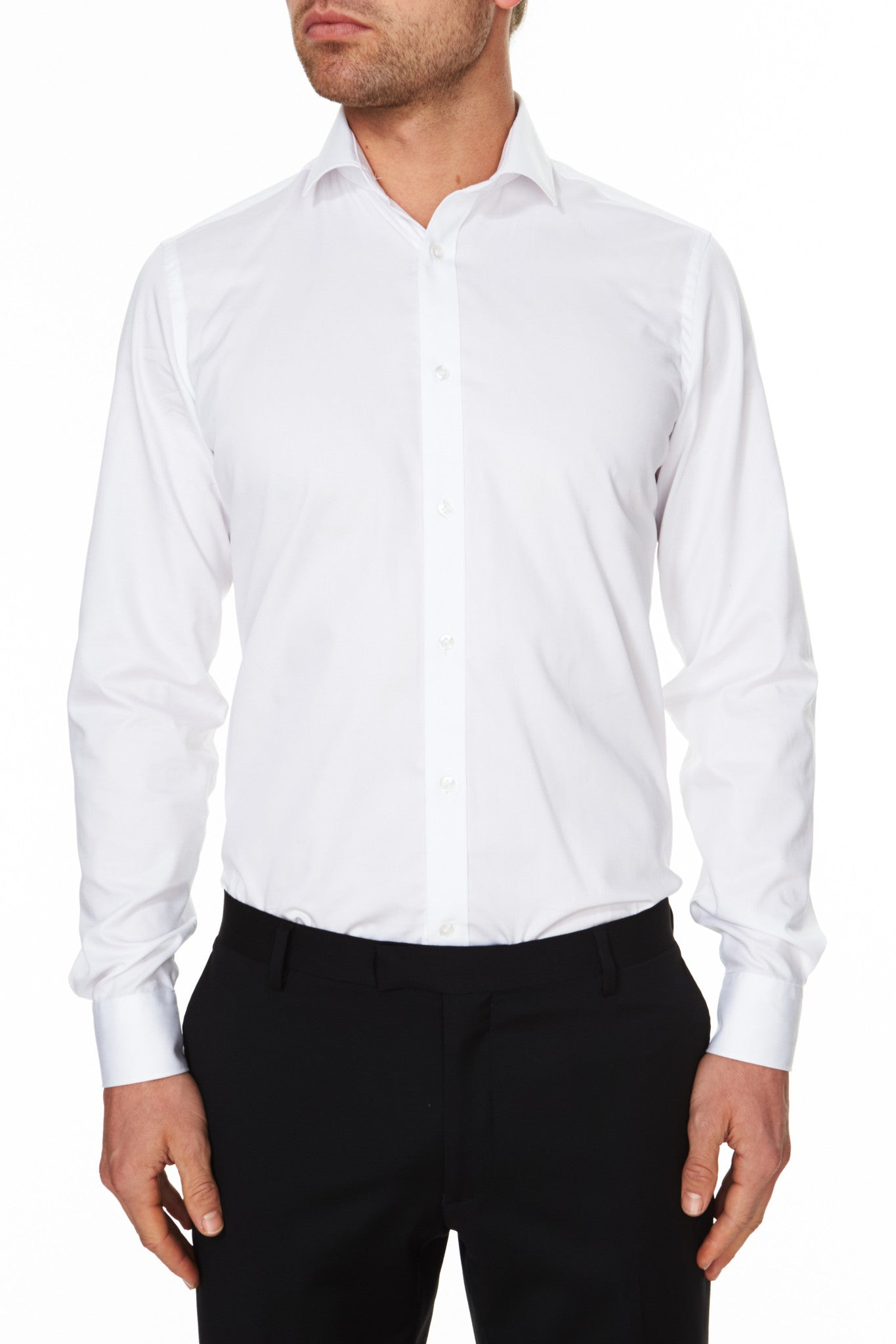 Pioneer Business Shirt White Front