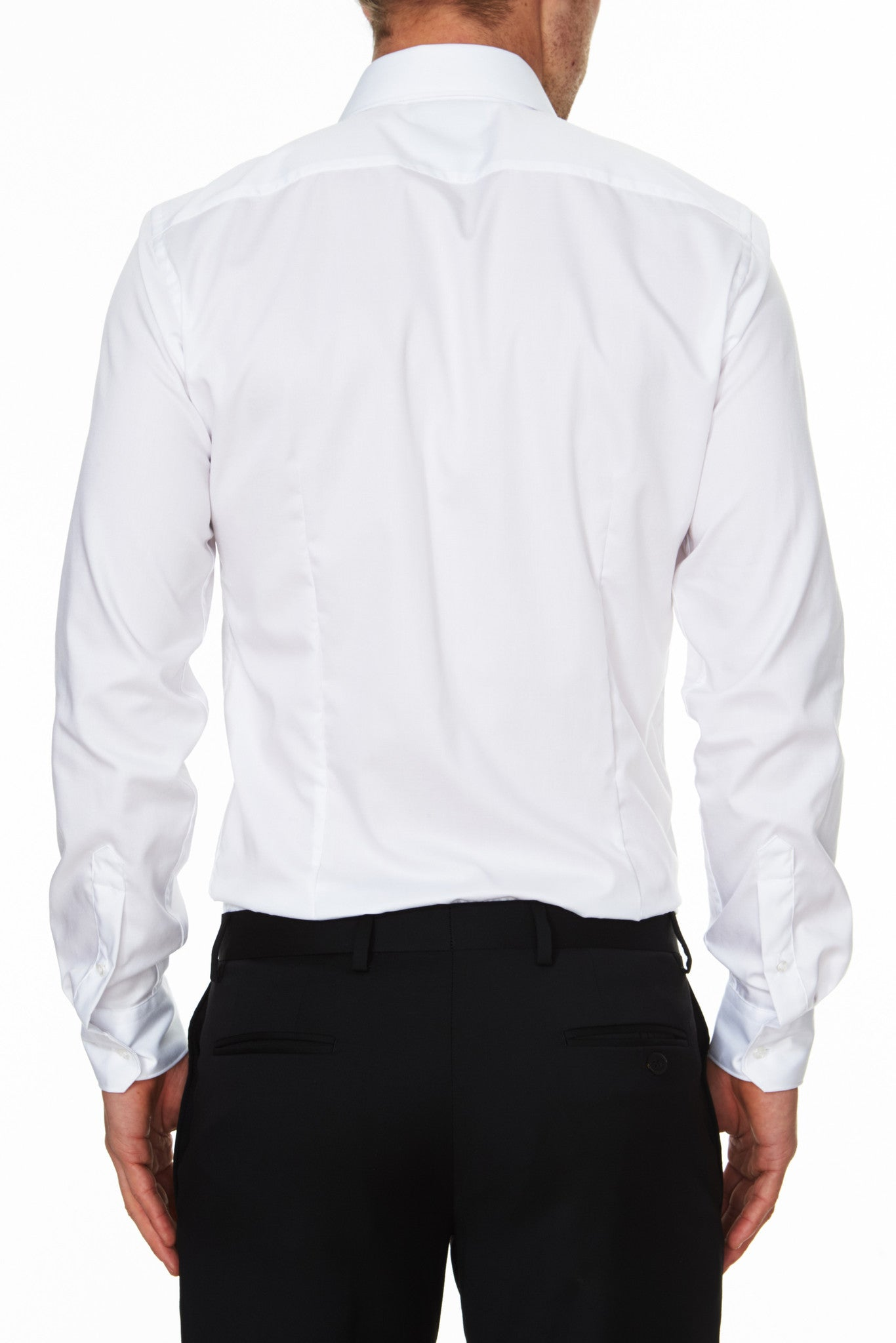 Pioneer Business Shirt White Back