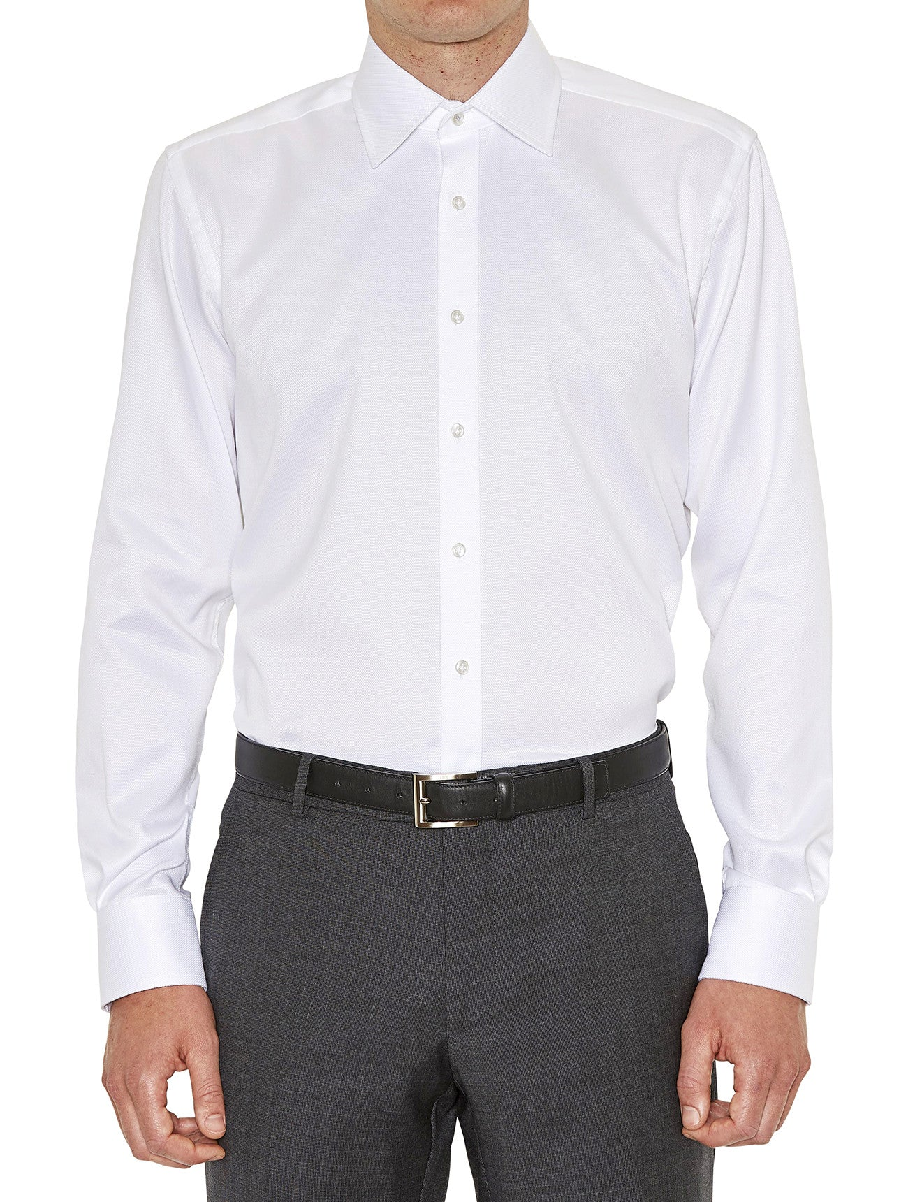 Pioneer Business Shirt in White
