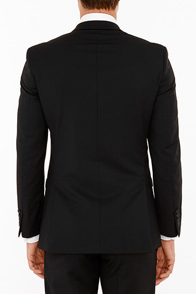Anchor Suit Jacket in Black Back