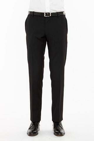 Razor Suit Trouser Black Front