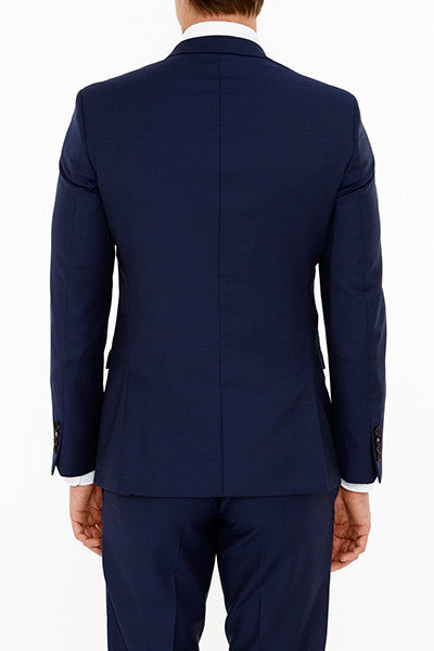 Anchor Suit Jacket in Navy Back