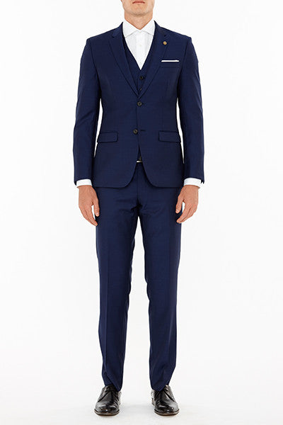 Anchor Suit Jacket in Navy