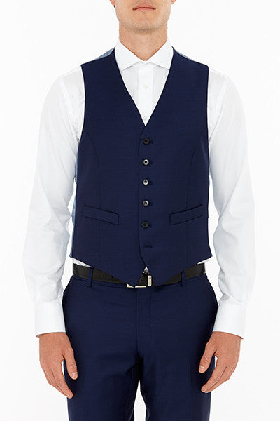 Mail Vest Navy Front