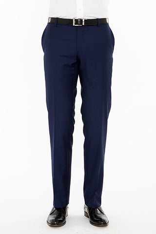 Razor Suit Trouser Navy Front