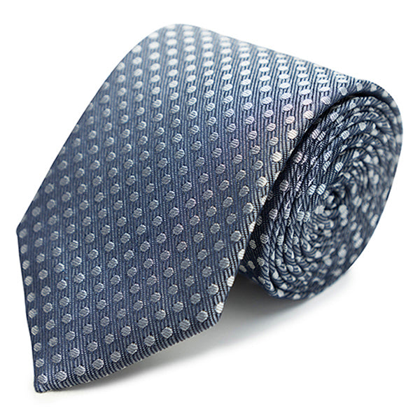 Soft polkadot tie in Red