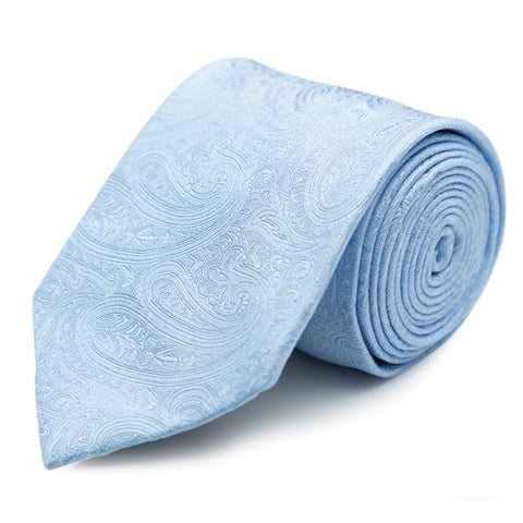 Longstitch Tie in blue