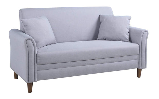 New Century® Gray Two Tone Love Seat Living Room Sofa