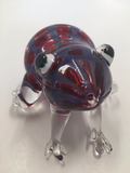 Red Blue Frog Animal Pipe - GradientGlass - Animal Pipe - 3