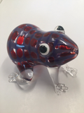 Red Blue Frog Animal Pipe - GradientGlass - Animal Pipe - 4