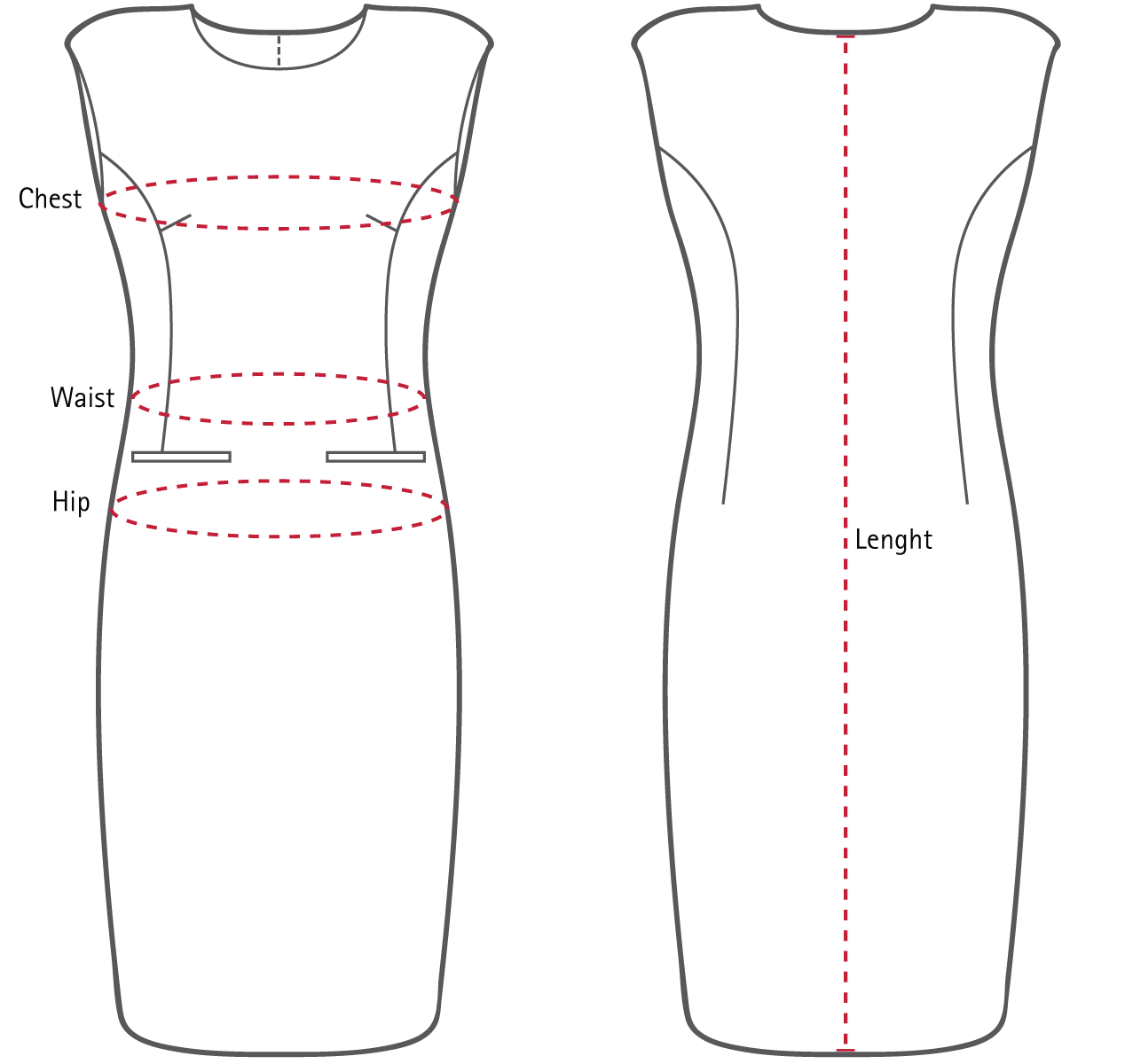 Women's Dress Sizes