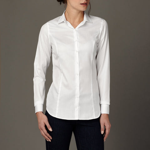 Thames Evening Mist Panelled Shirt
