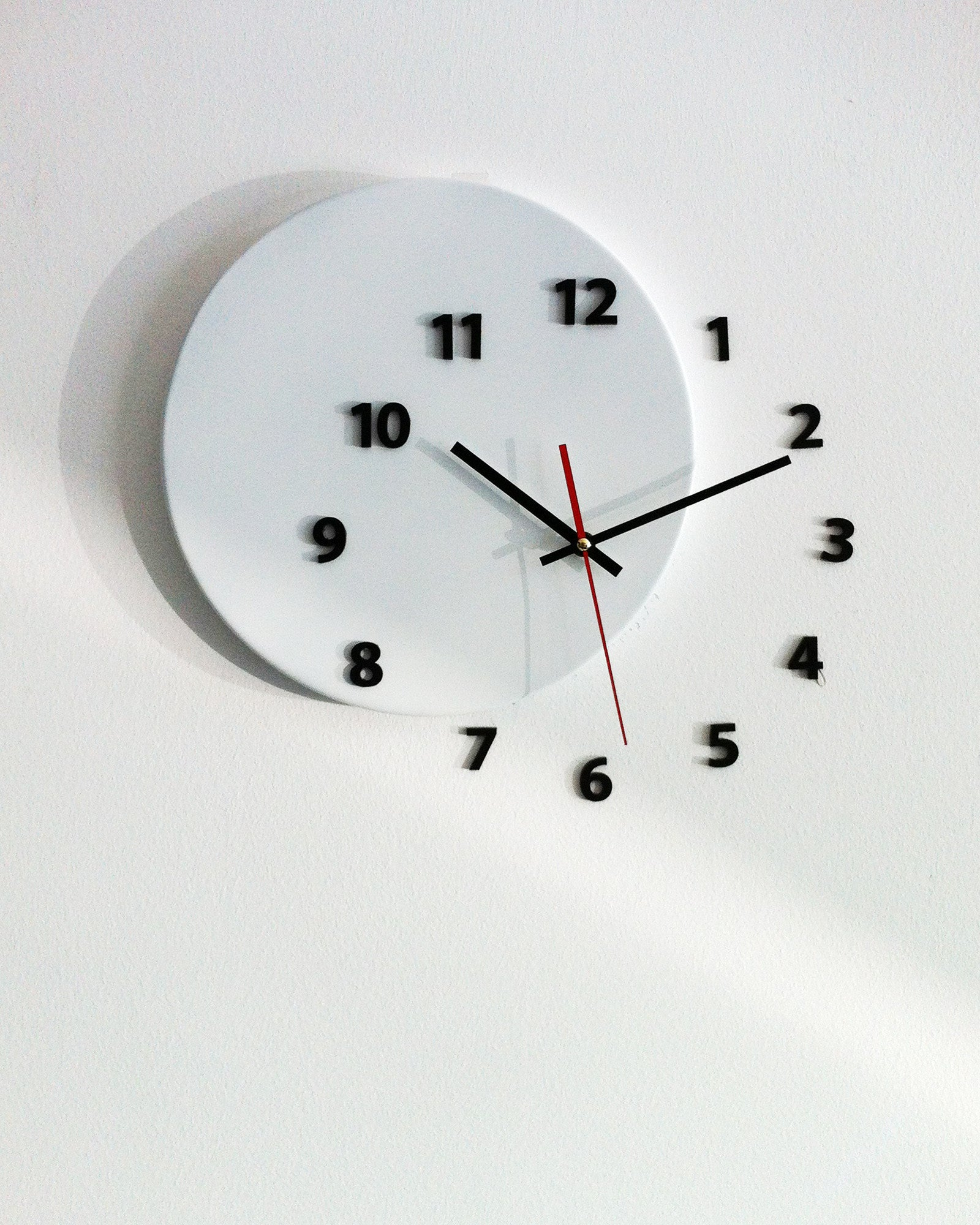 wall clock out of time white light4dark