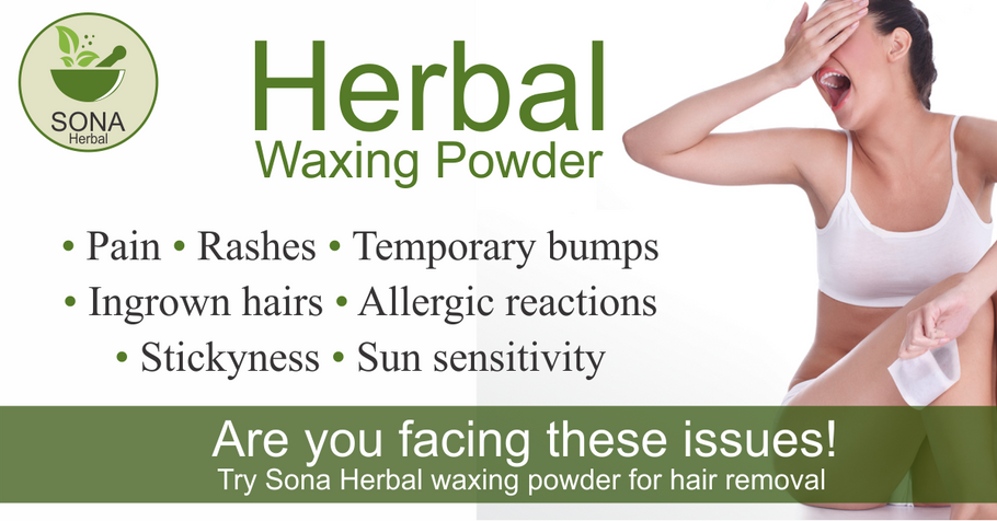 Hair Removal herbal Waxing powder