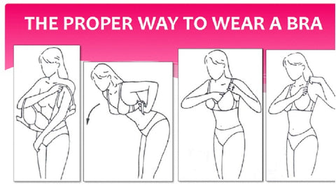 The Proper Way to wear a Bra