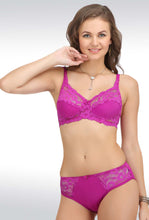 Salsa Lace Full Brown Coverage Non Padded Bra & Panty Sets 5502.