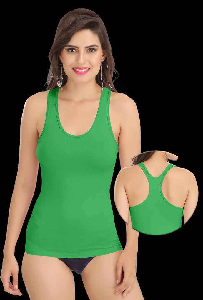 Green Racer Back 8008 Camisole BUY 2 GET 2 FREE
