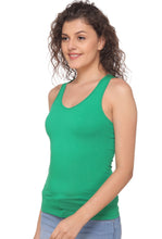 Green Racer Back 8008 Camisole