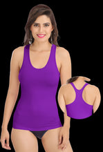 Purple Racer Back 8008 Camisole