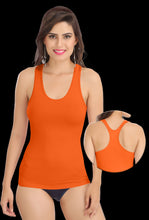 Orange Racer Back 8008 Camisole BUY 2 GET 2 FREE