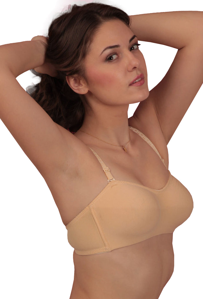 3bbd4f28520 ... Blossom Beige Everyday Demi Cup Non-Padded Multiway T-Shirt Bra BUY 2  GET