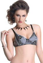 Salsa 35 Women Black Lace Wire Free T-Shirt Padded Bra