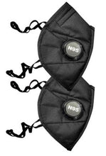 Sona Anti-Pollution N95 Black Mask Capacity 5 Layered Mask Pack of 2