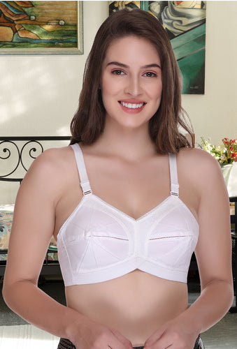Ultimate Women Elastic Strap Full Coverage Bra