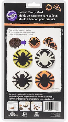 Spider Cookie Candy Mold