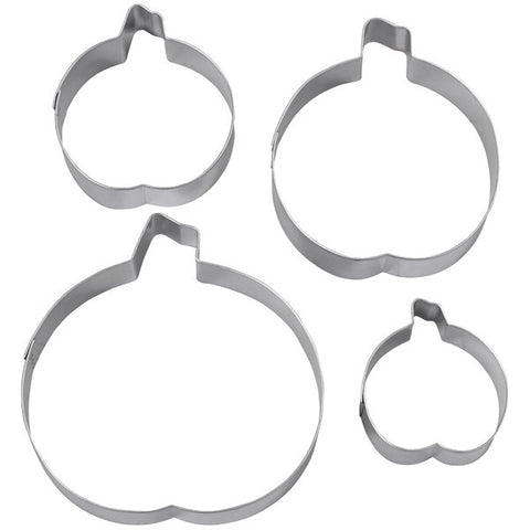 pumpkins nesting cookie cutter set