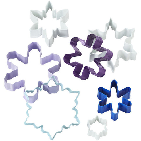 snowflake 7pc. cookie cutter set