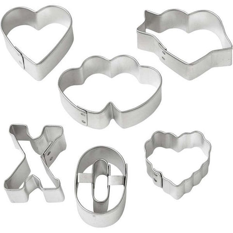 Valentine Mini Cookie Cutter Set