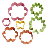garden 7pc. cookie cutter set