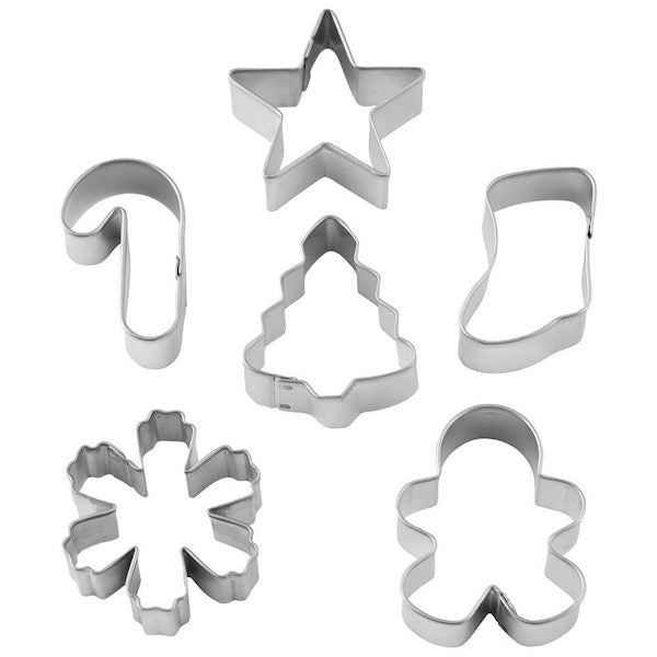 Holiday Wreath Mini Cookie Cutter Set