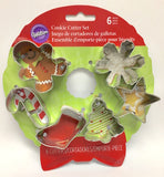Wilton Holiday Wreath Mini Christmas Cookie Cutter Set