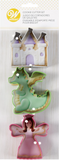 Castle, Dragon and Princess Cookie Cutter Set