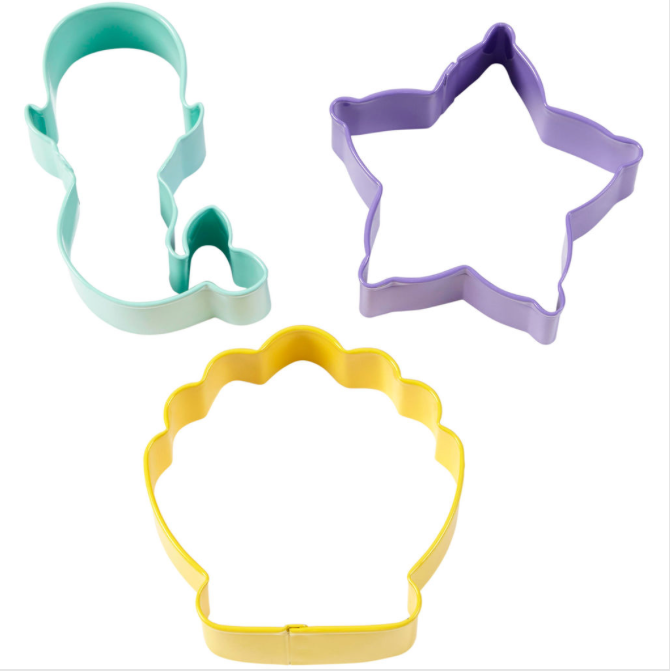 Wilton Sealife Cookie Cutter Set