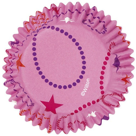 celebrate pink colorcups greaseproof cupcake liners