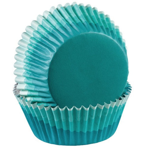 blue ombre colorcups greaseproof cupcake liners