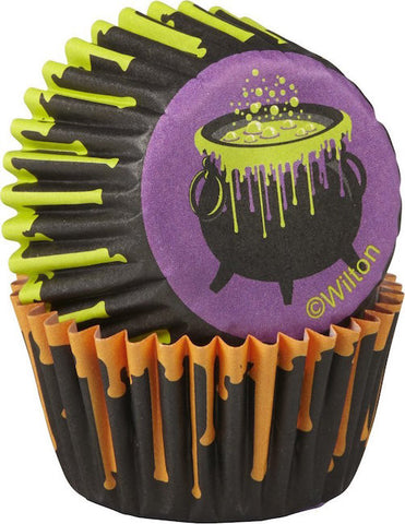 drink your treat halloween mini cupcake liners