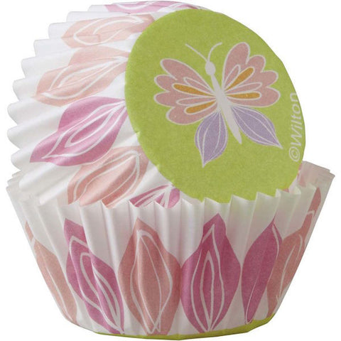 Wilton Butterfly Mini Cupcake Liners