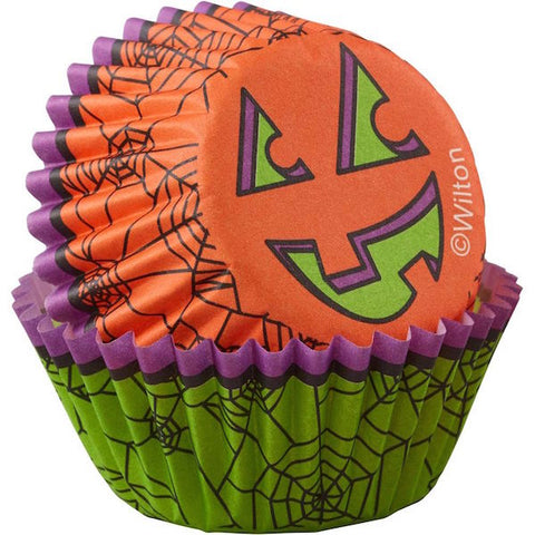Halloween Spider Mini Cupcake Liners