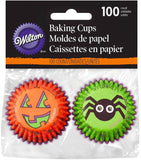 Wilton Halloween Spider Mini Cupcake Liners