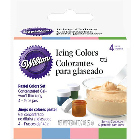 Pastel Gel Icing Colors Set by Wilton