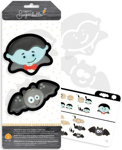 Sweet Sugarbelle Dracula Specialty Halloween Cookie Cutter Set