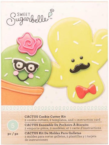 Sweet Sugarbelle Cactus Cookie Cutter Set