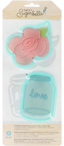 Country Rose Speciality Cookie Cutter Set